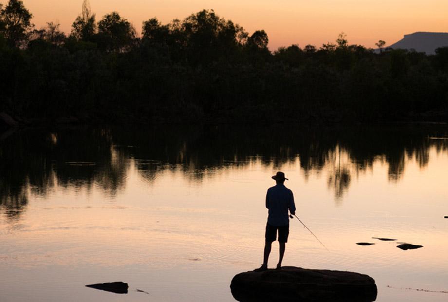 Fishing in the kimberley