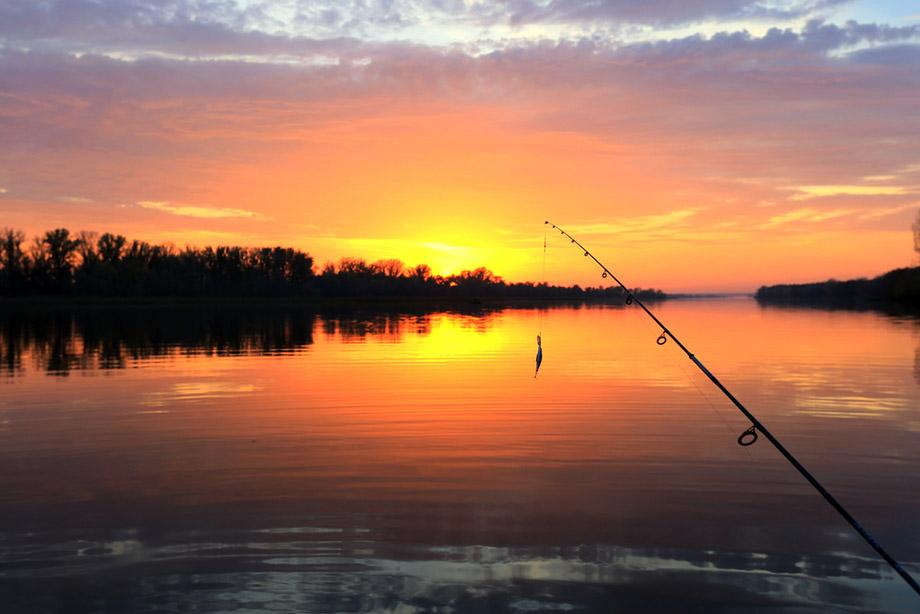 landscape fishing photo