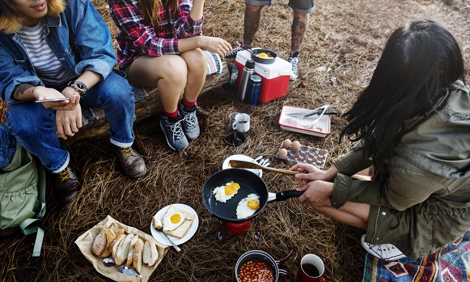 Easy Camping Breakfasts