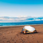 HOW TO MANAGE THE SAND WHEN BEACH CAMPING