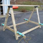 BUILD YOUR OWN A-FRAME KAYAK RACK