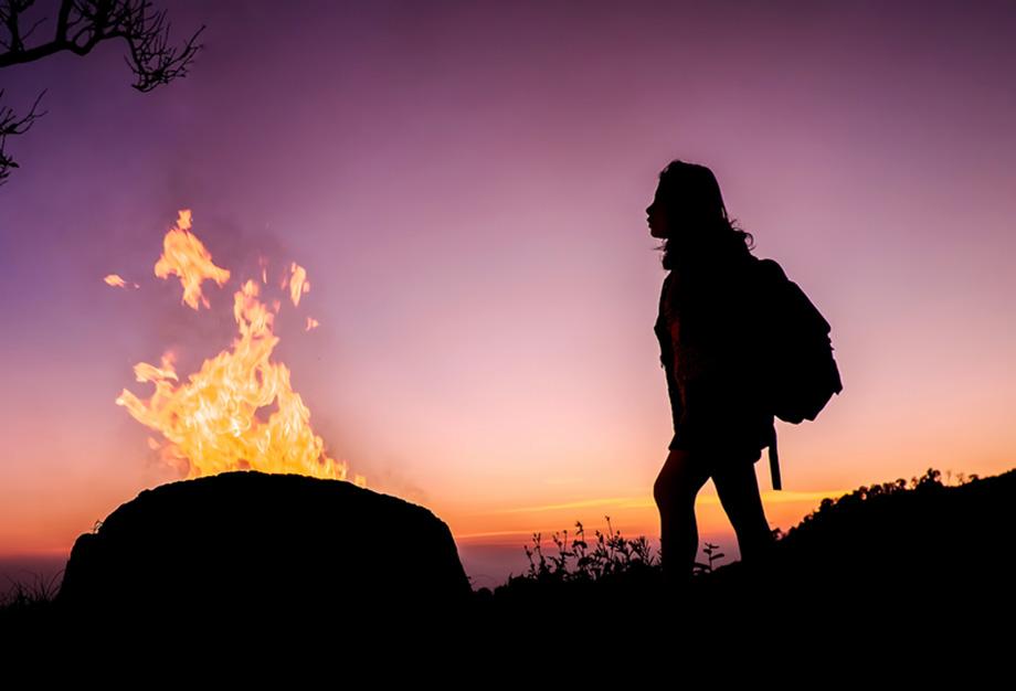Outback Night Camper