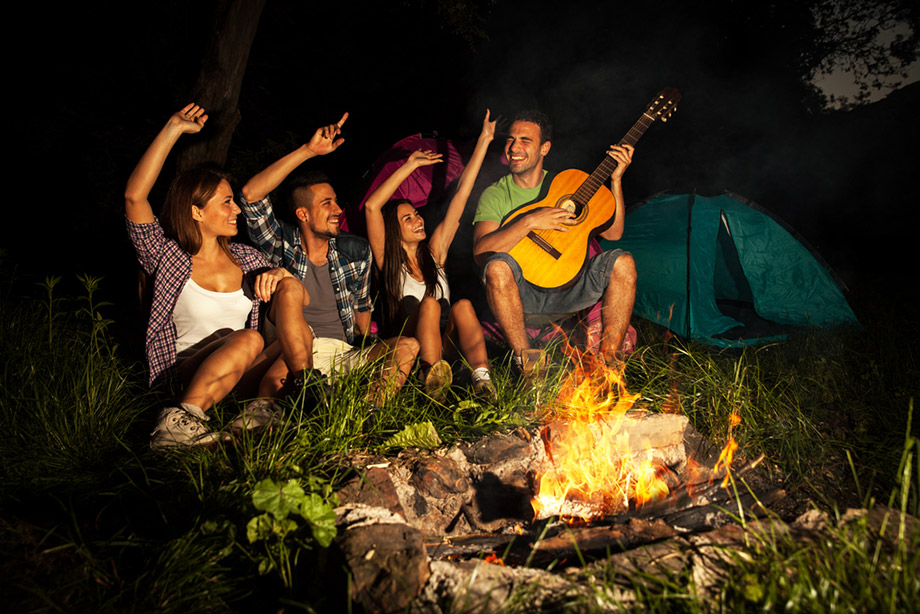 Fun Around Campfire