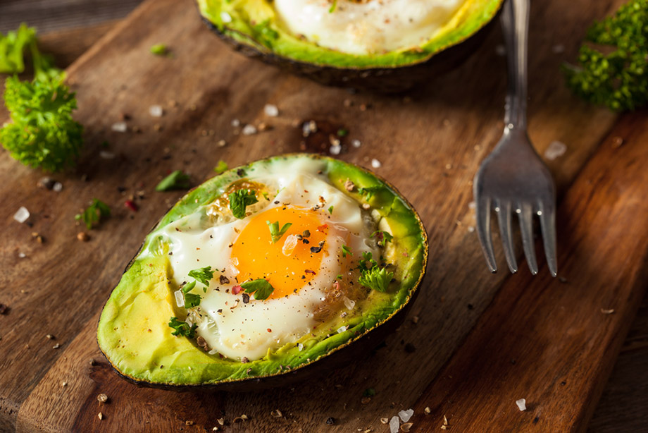Avocado Poached Egg