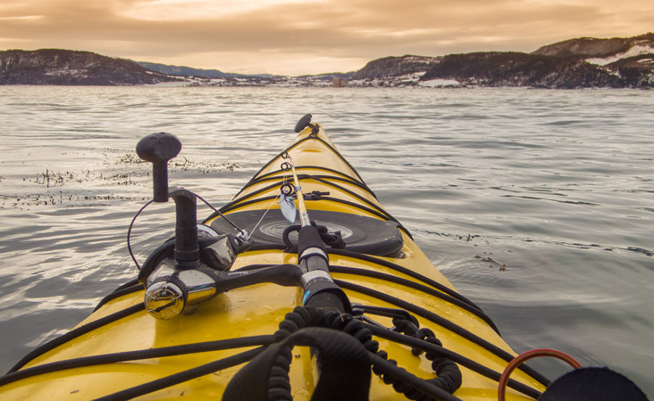 Kayak Front Point Of View