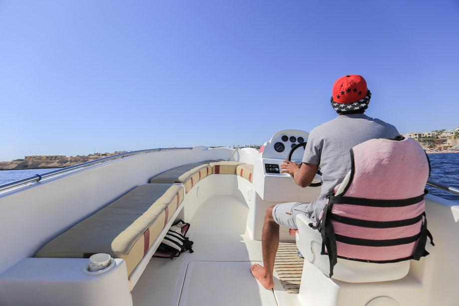 Man Boating