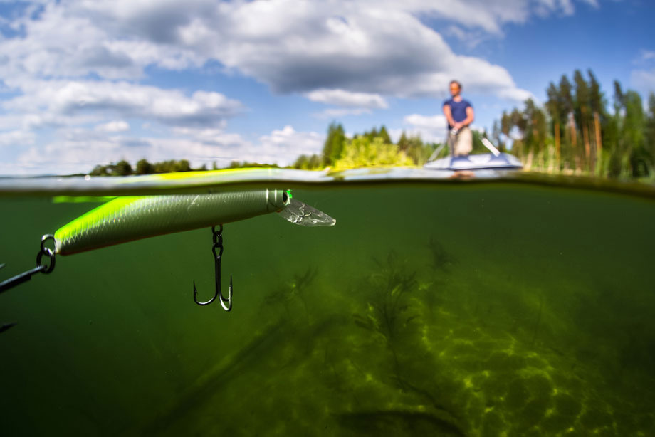 Surface Lure Close Up