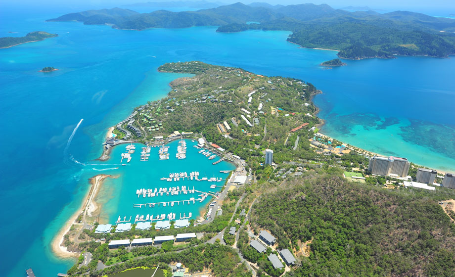 Aerial View Of Whitsunday Islands