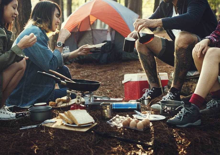 Camping Food You Can Easily Prepare FEATURE