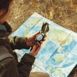 USING A COMPASS AND MAP