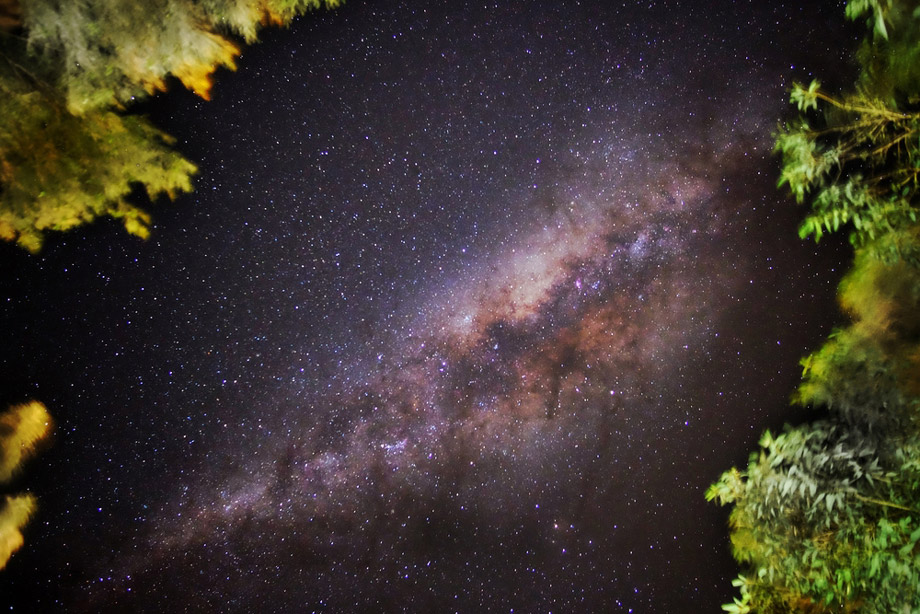 Spectacular View Of The Milky Way