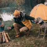 8 SAFETY TIPS FOR CAMPING WITH A DOG