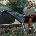 HOW A DIGITAL NOMAD CAN STAY CONNECTED WHILE CAMPING