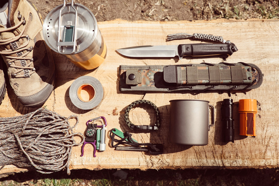 Camping Gear And Tools