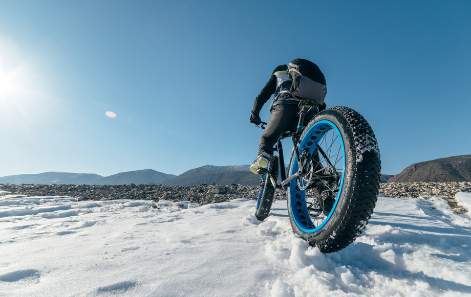 Mountain Biking In Winter