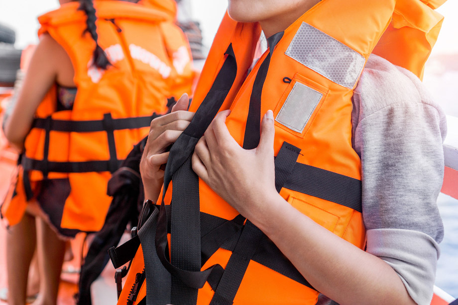 People Wearing Lifejackets
