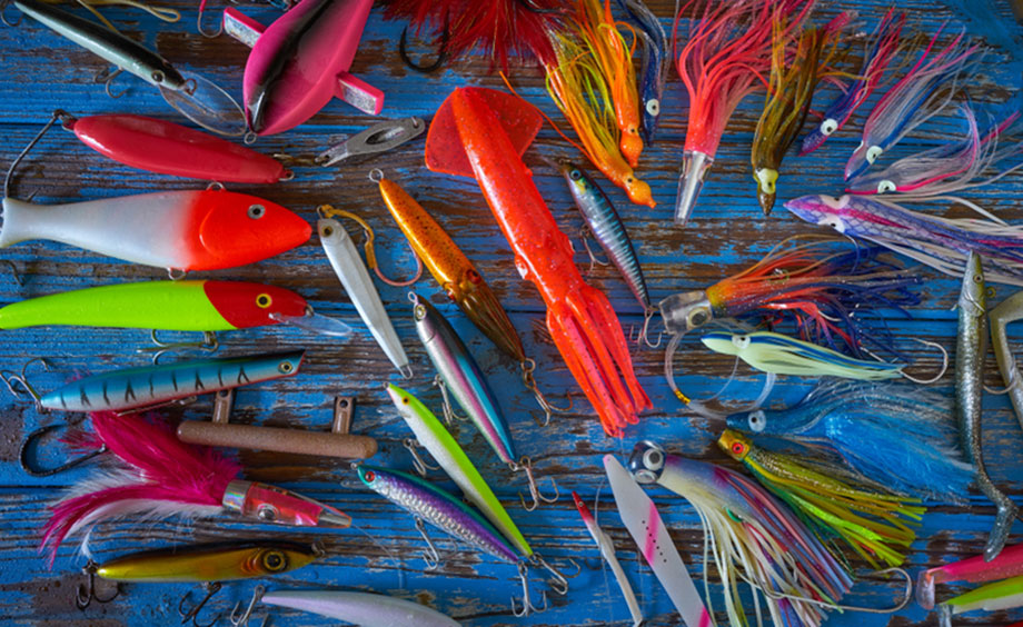 Variety Of Jig Lures